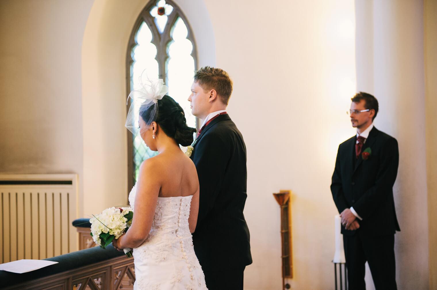 Bröllop i St Birgittas kapell