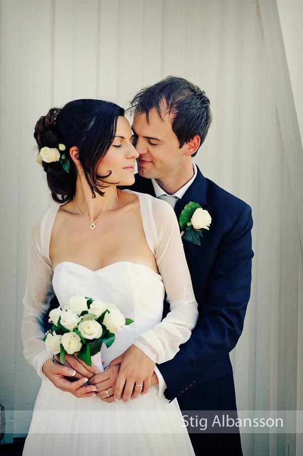 Anja & Tristan – Månadens bröllopsfoto Bröllopsguiden