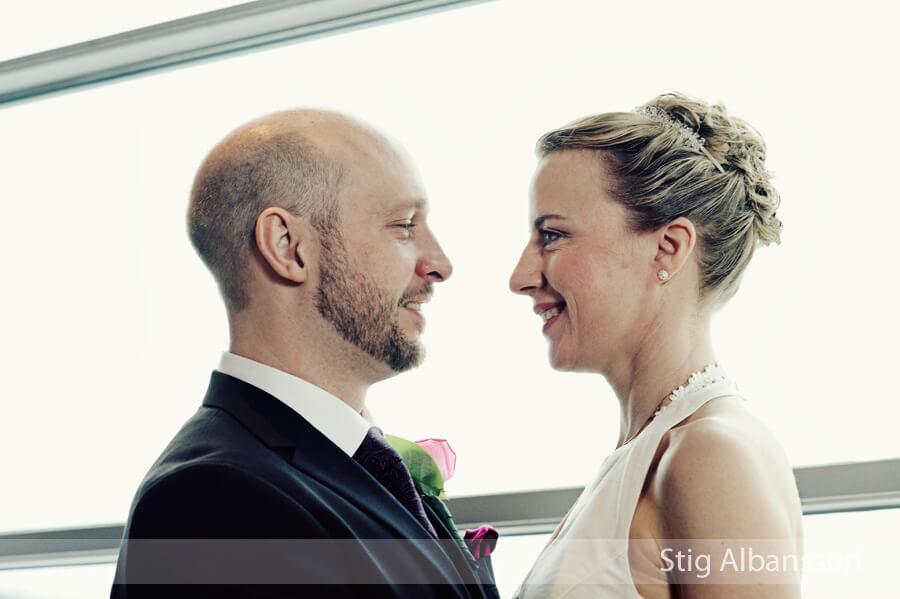 Bröllopsbild göteborgsoperan