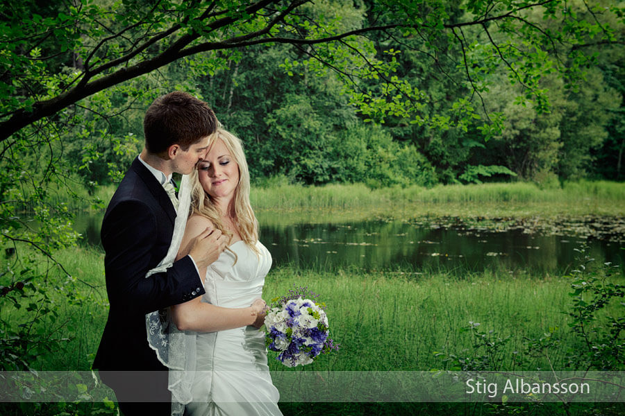 Bröllopsfotografering på Styrsö i Augusti